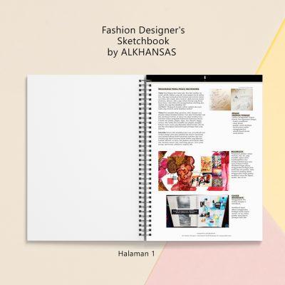 the fashion designers sketchbook alkhansas hal 1