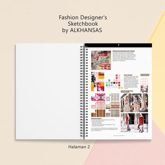 the fashion designers sketchbook alkhansas hal 2
