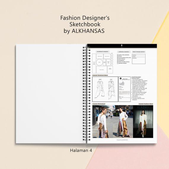 the fashion designers sketchbook alkhansas hal 4