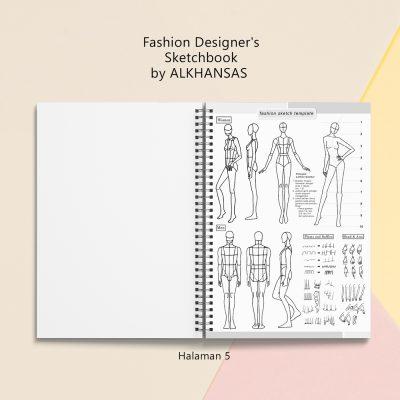 the fashion designers sketchbook alkhansas hal 5