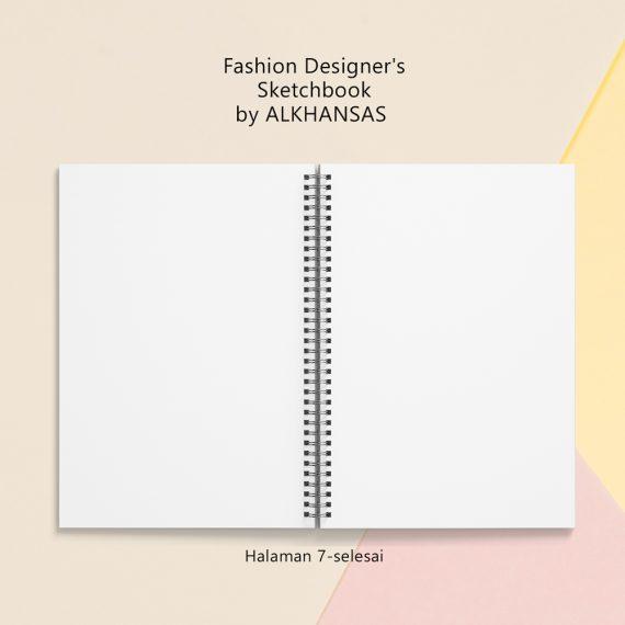 the fashion designers sketchbook alkhansas hal 7